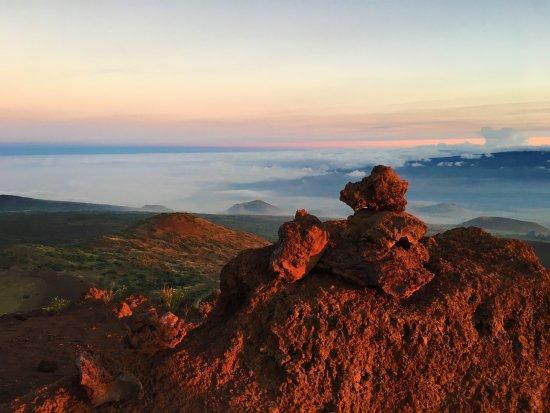 Mauna Kea Summit: Sunset view