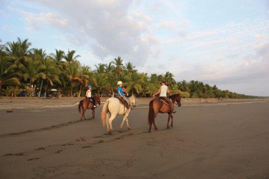 Esterillos Este, Costa Rica: 7 and 9 year olds.