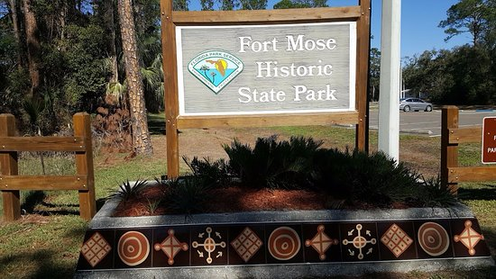 ‪Fort Mose Historic State Park‬