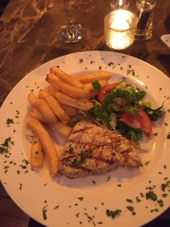 Chippenham, UK: A swordfish steak