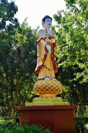 Wollongong, Australia: One of the beautiful Nan Tien Temple Buddah's