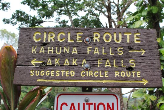 Akaka Falls State Park : We walked the full Circle Route