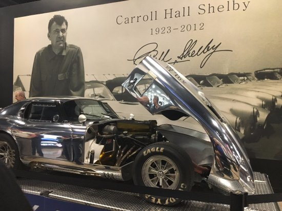 Shelby American, Inc.: This car is a replica--there are 6 of these in the world