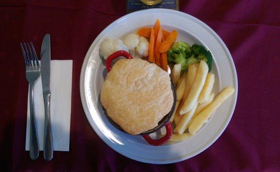 Остров Маклей, Австралия: Pot Pie with Vegtables