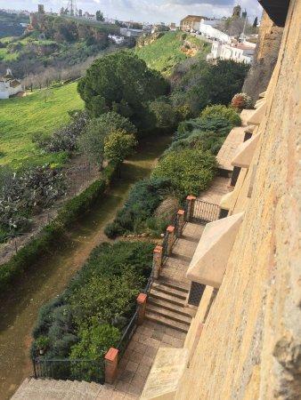 Carmona, Spain: Fotos vista desde la habitación hacia la Vega y la habitación