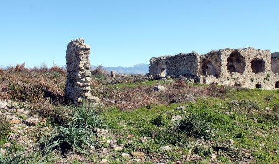 Античный Сиде - Monumental Fountain (Nymphaeum), Side ...