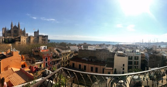 Hostal Apuntadores: View from terrace