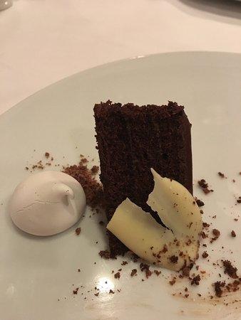 Dessert from the French Restaurant