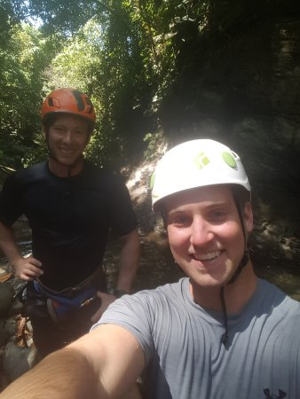 Dominical, Costa Rica: one of our tour guides jake