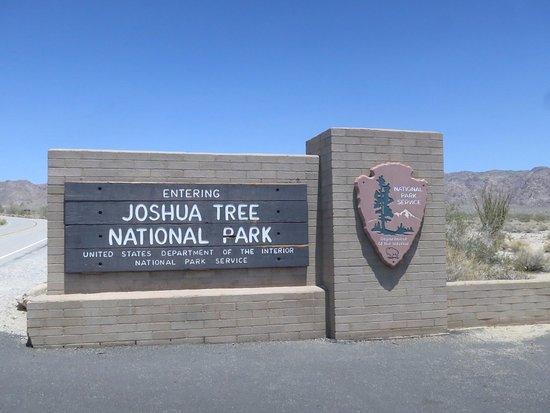 Twentynine Palms, Kalifornia: Welcome to JTNP
