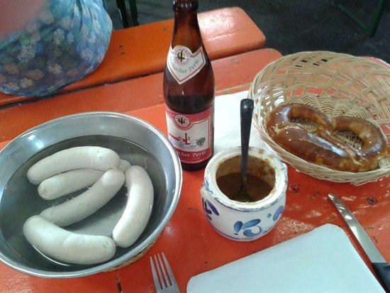 Ried, Deutschland: Frühstück