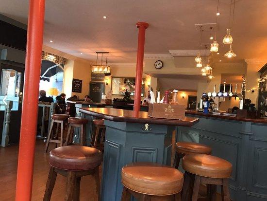 Prince Alfred: pub interior