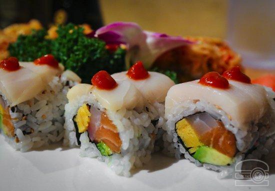 Morgantown, Virginia Occidental: Sushi :p