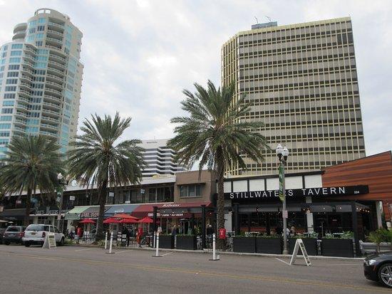 Downtown St Petersburg Beach Drive Restaurants