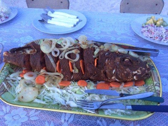 Upolu, Samoa: Fish for dinner