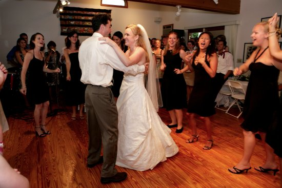 Acorn Inn Bed & Breakfast : First dance in a wedding celebration in Reception Gallery at Inn