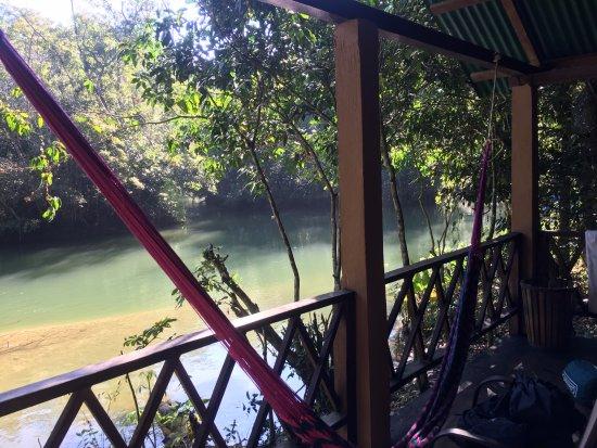 Lacanja, Mexico: Habitación junto al rio