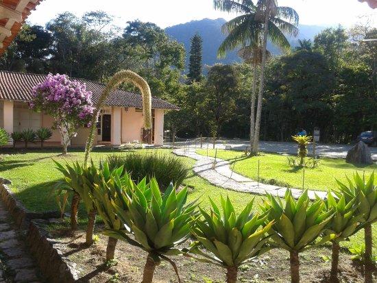 Itatiaia, RJ: Jardins do museu