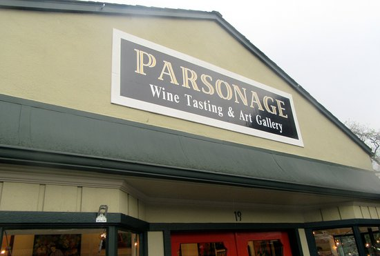Parsonage Winery Tasting Room, Carmel Valley, Ca