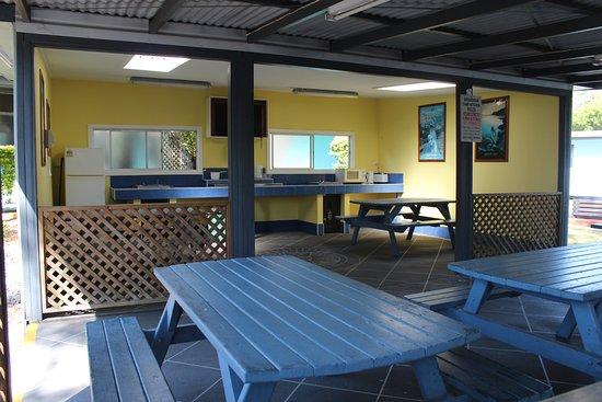 North Haven, Australia: Older camp kitchen