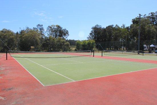 North Haven, Australien: Tennis courts