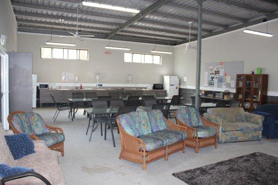 North Haven, Australien: Modern camp kitchen