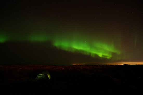 Selfoss, Islândia: Northern lights