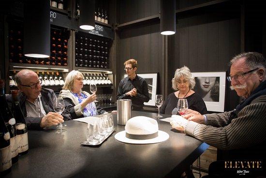Mornington, Australia: Tasting at Polperro Red Hill Winery