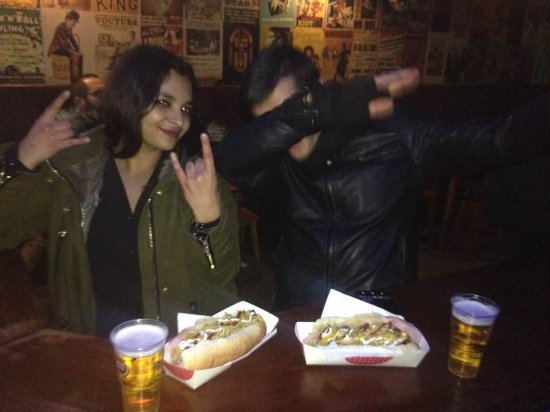 Porto District, Portugal: Long night, long hotdog!