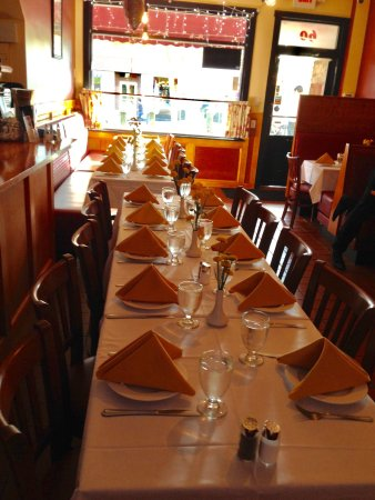 Lee, MA: Alpamayo Restaurant