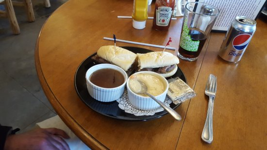 Bonners Ferry, ID: French Dip Sandwich