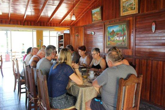 El Castillo, Costa Rica: Our main restaurant
