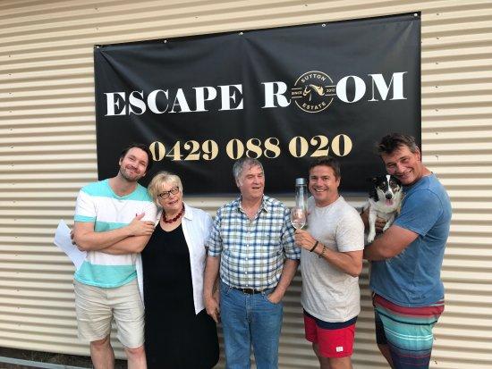Pokolbin, Australien: Wine Escape Rooms - Sutton Estate