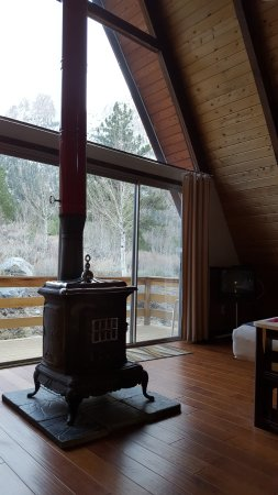 June Lake, CA: View from the living room