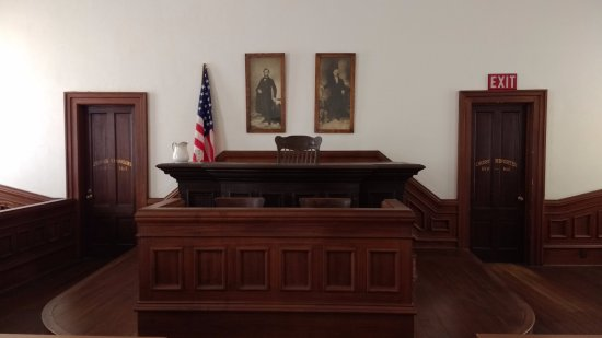 Tombstone Courthouse State Historic Park: Courtroom