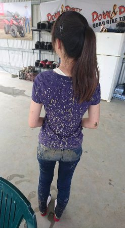 Kuranda, Australia: What you get when stuck in the mud
