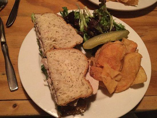 Lion's Den Pub: RLI Turkey sandwich