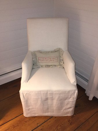 Lee, MA: A comfy chair