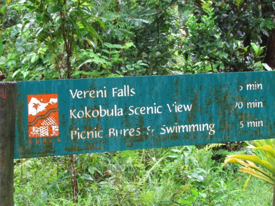 Koroyanitu National Heritage Park: trails a little run-down in the rainy season