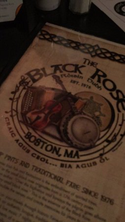 Photo of Nightclub The Black Rose at 160 State St, Boston, MA 02109, United States