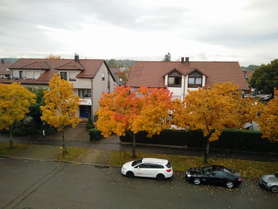 Steinenbronn, Deutschland: Outside view from room