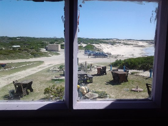 Arniston, South Africa: View from Willeen's window