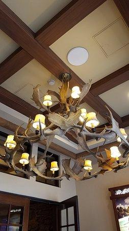 Ameristar Casino Resort Spa Black Hawk: Antler chandelier.