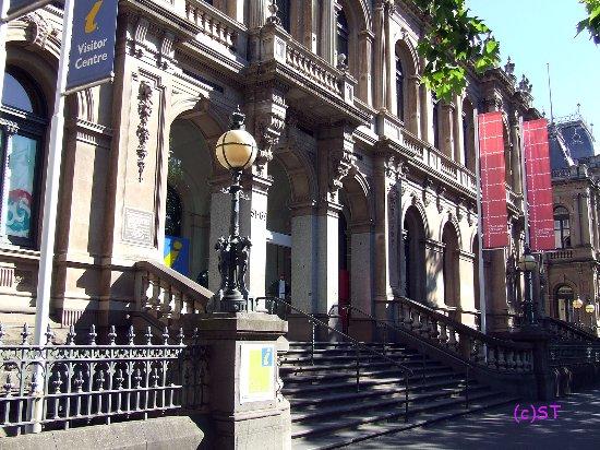 Bendigo, ออสเตรเลีย: the old historical building