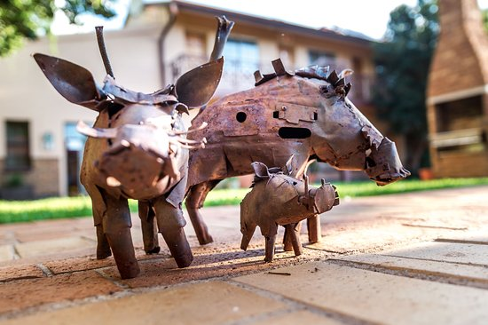 Centurion, Sydafrika: Just adding to the atmoshpere