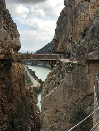 El Chorro, Hiszpania: tramo final