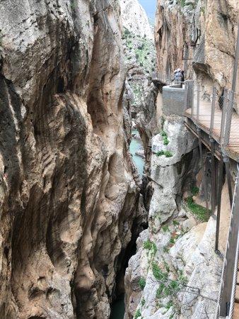 El Chorro, Hiszpania: desfiladero