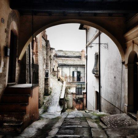 Narni, إيطاليا: Via dell'Oliveto, lungo la strada per Narni Sotterranea 