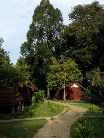 Kuala Tahan, Maleisië: bungalow