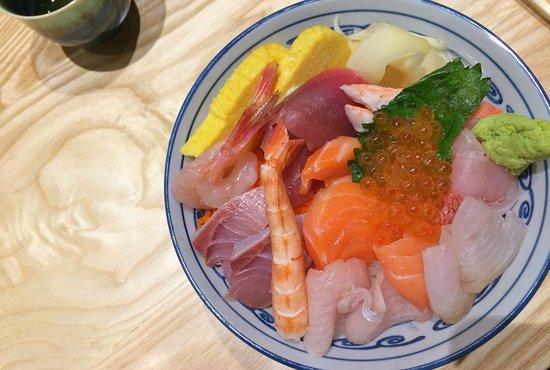 Iselin, Νιού Τζέρσεϊ: Kaisen Don (Sashimi Rice Bowl)